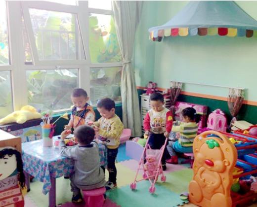 啤酒路光明小区内 西安莲湖金色童年第二幼儿园