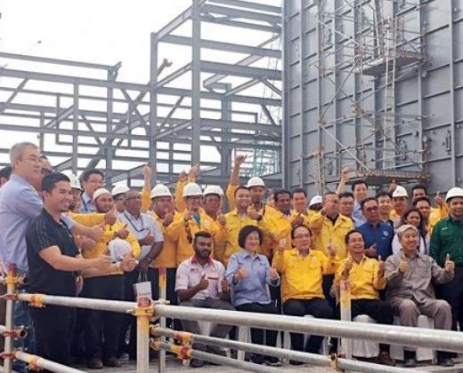 茂名100万吨/年乙烯改扩建工程,海南800万吨/年炼油工程,青岛1000万吨